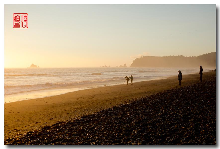 《酒一船摄影》:奥林匹克国家公园的海岸及日落_图1-3