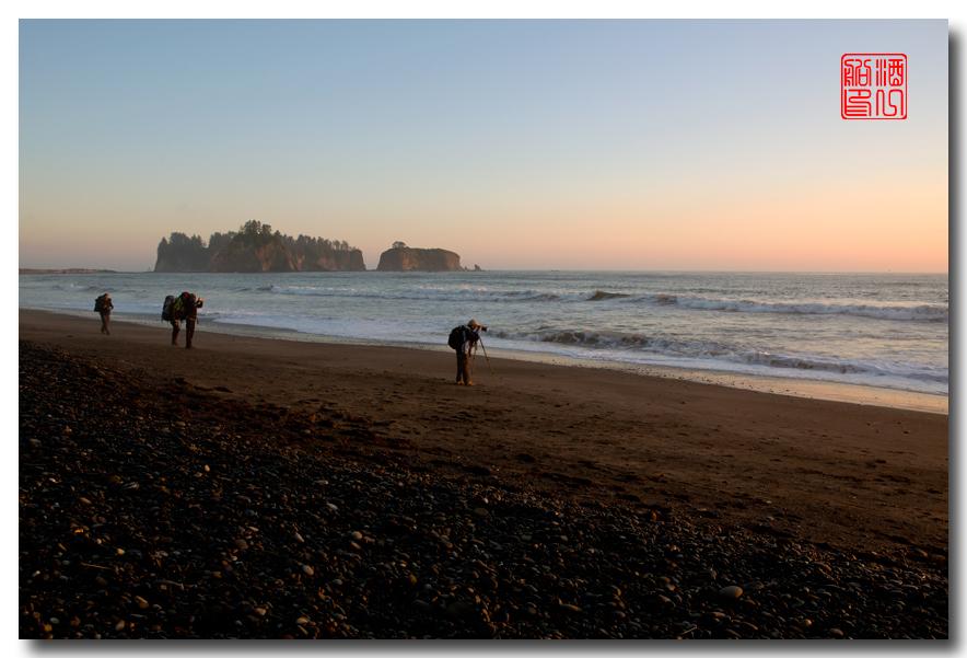 《酒一船摄影》:奥林匹克国家公园的海岸及日落_图1-4
