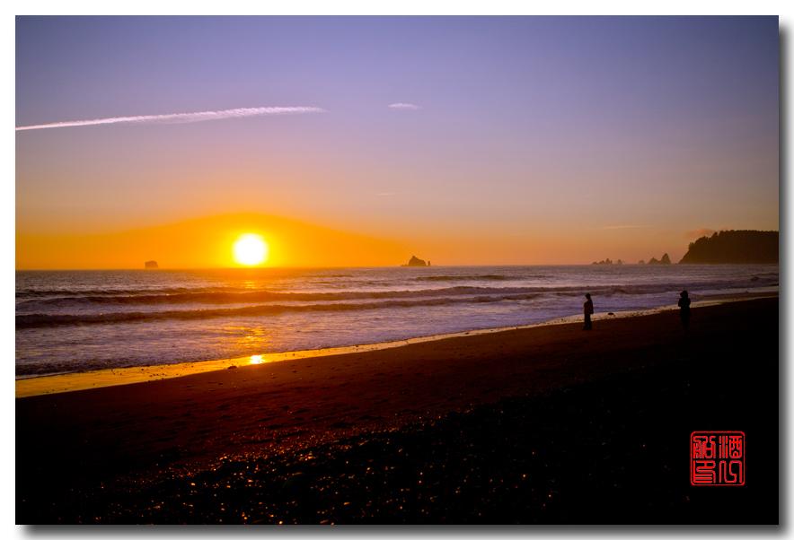 《酒一船摄影》:奥林匹克国家公园的海岸及日落_图1-6