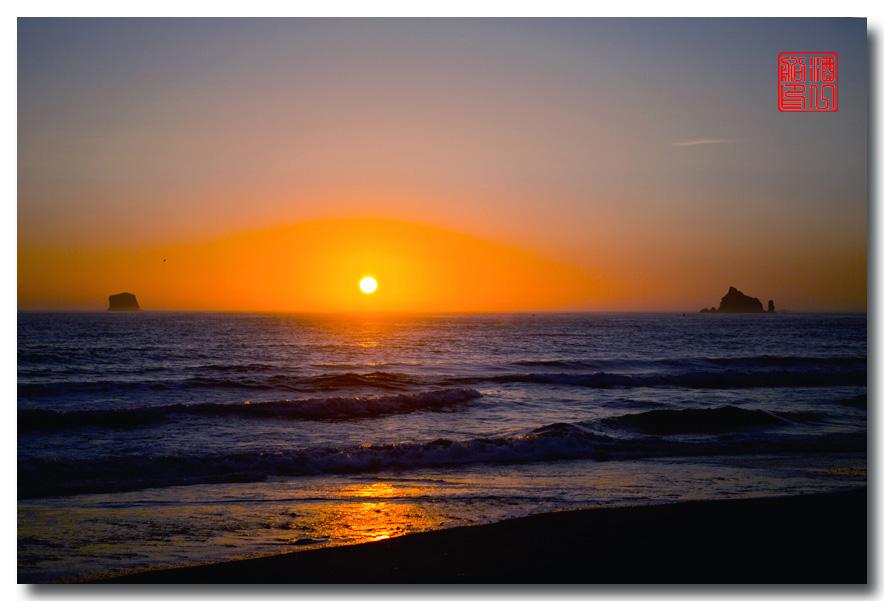 《酒一船摄影》:奥林匹克国家公园的海岸及日落_图1-7