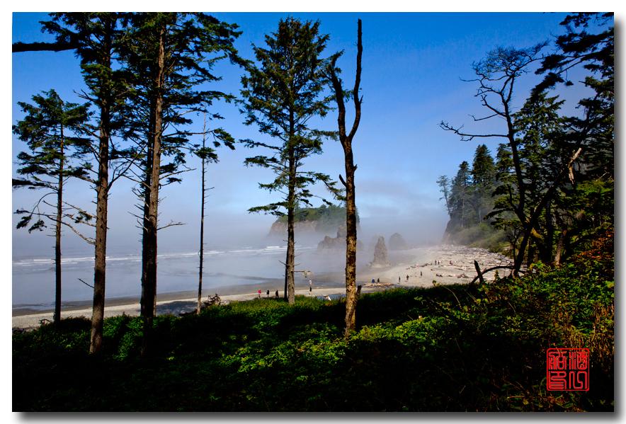 《酒一船摄影》:奥林匹克国家公园的海岸及日落_图1-10