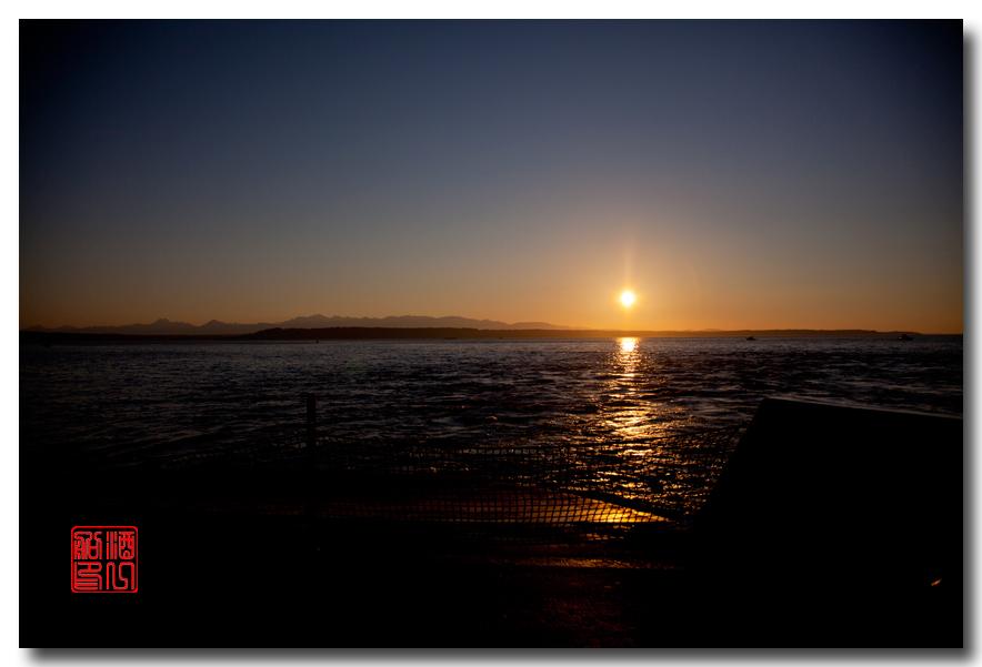 《酒一船摄影》:奥林匹克国家公园的海岸及日落_图1-31