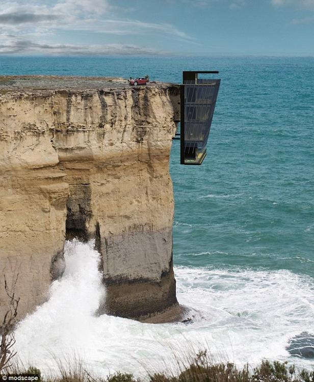 """澳洲公司设计""""悬崖居"""" 每天体验惊险刺激生活_图1-1"""