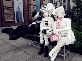 台北街头艺术展品