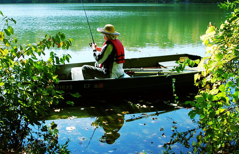 周末去纽约上州钓鱼随拍秋色