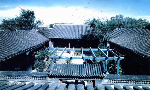 四合院(北京四合院)_图1-2