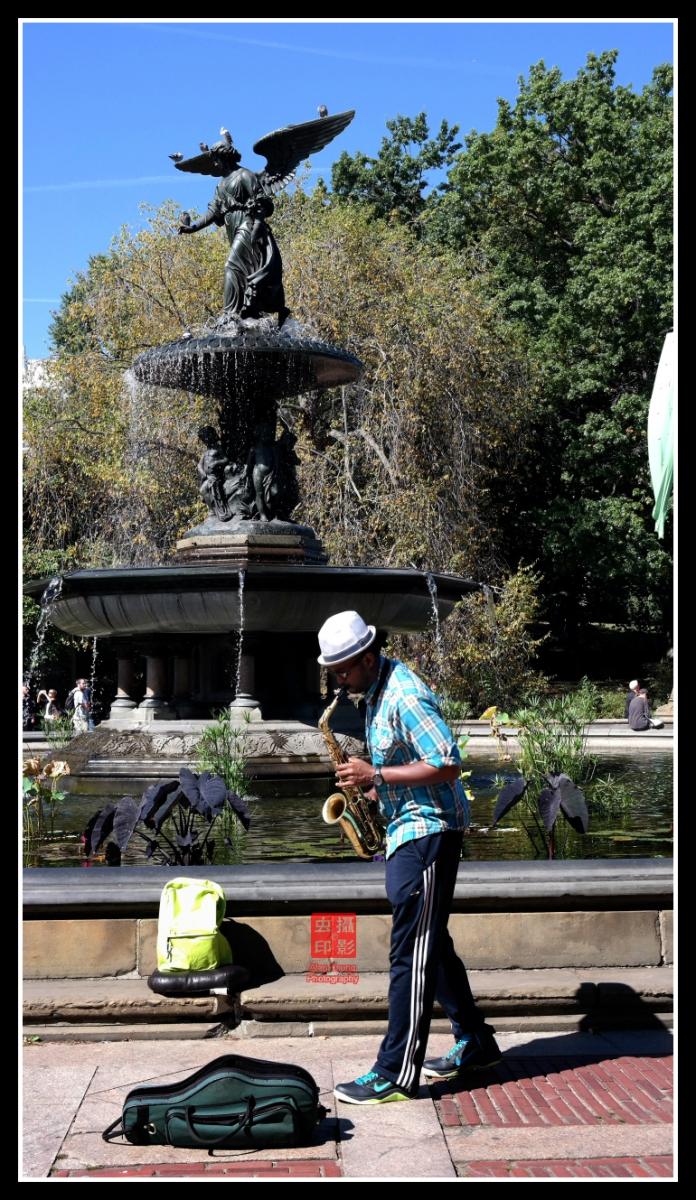 【攝影蟲】紐約中央公園表演人物篇_图1-1