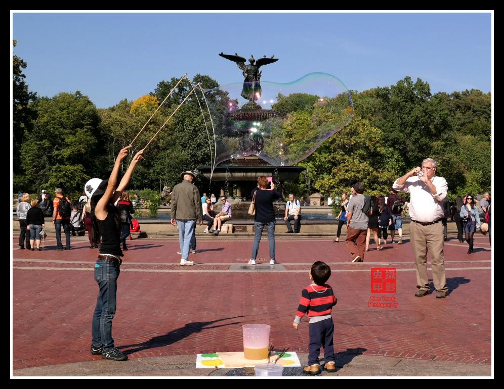 【攝影蟲】紐約中央公園表演人物篇_图1-8