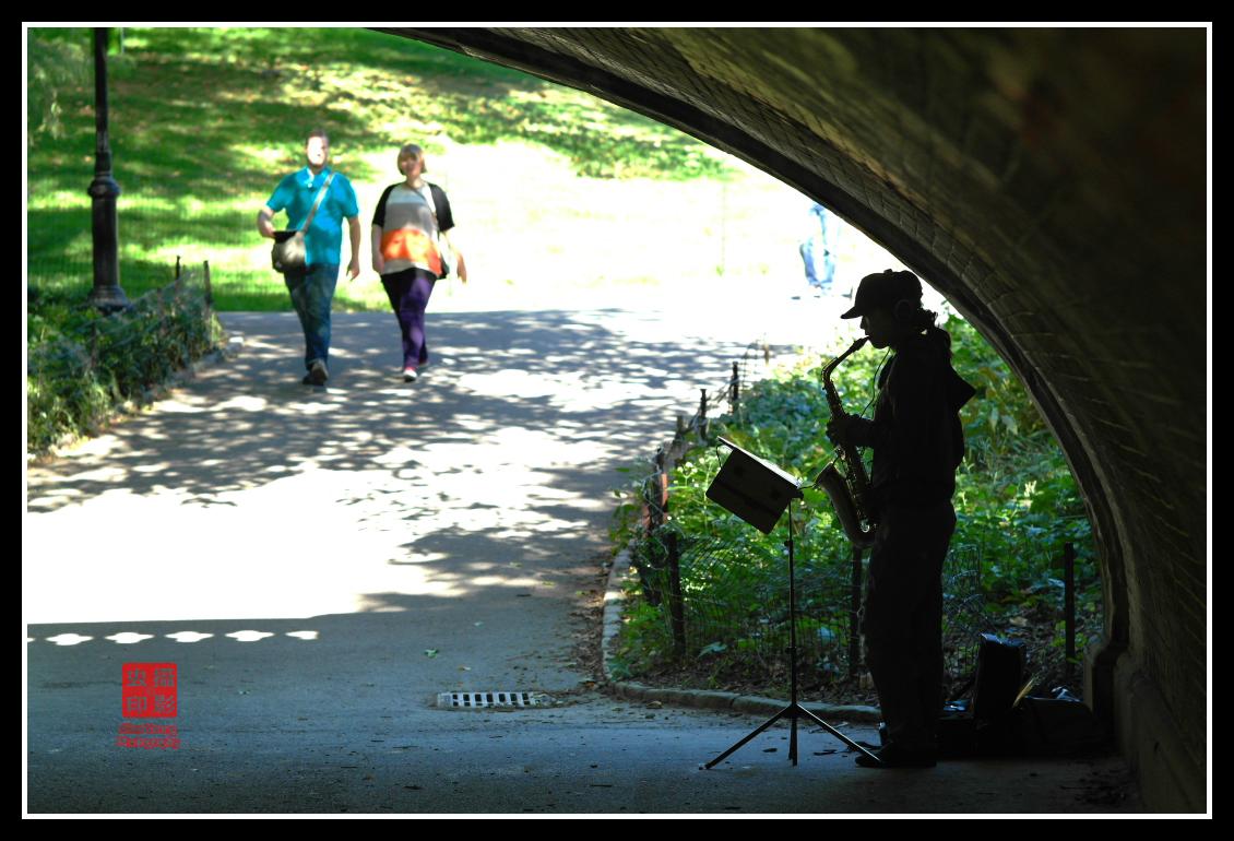 【攝影蟲】紐約中央公園表演人物篇_图1-19