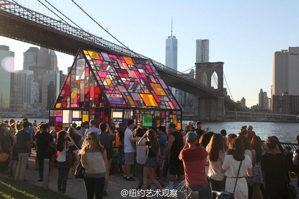 2014布鲁克林DUMBO艺术节回顾_图1-3