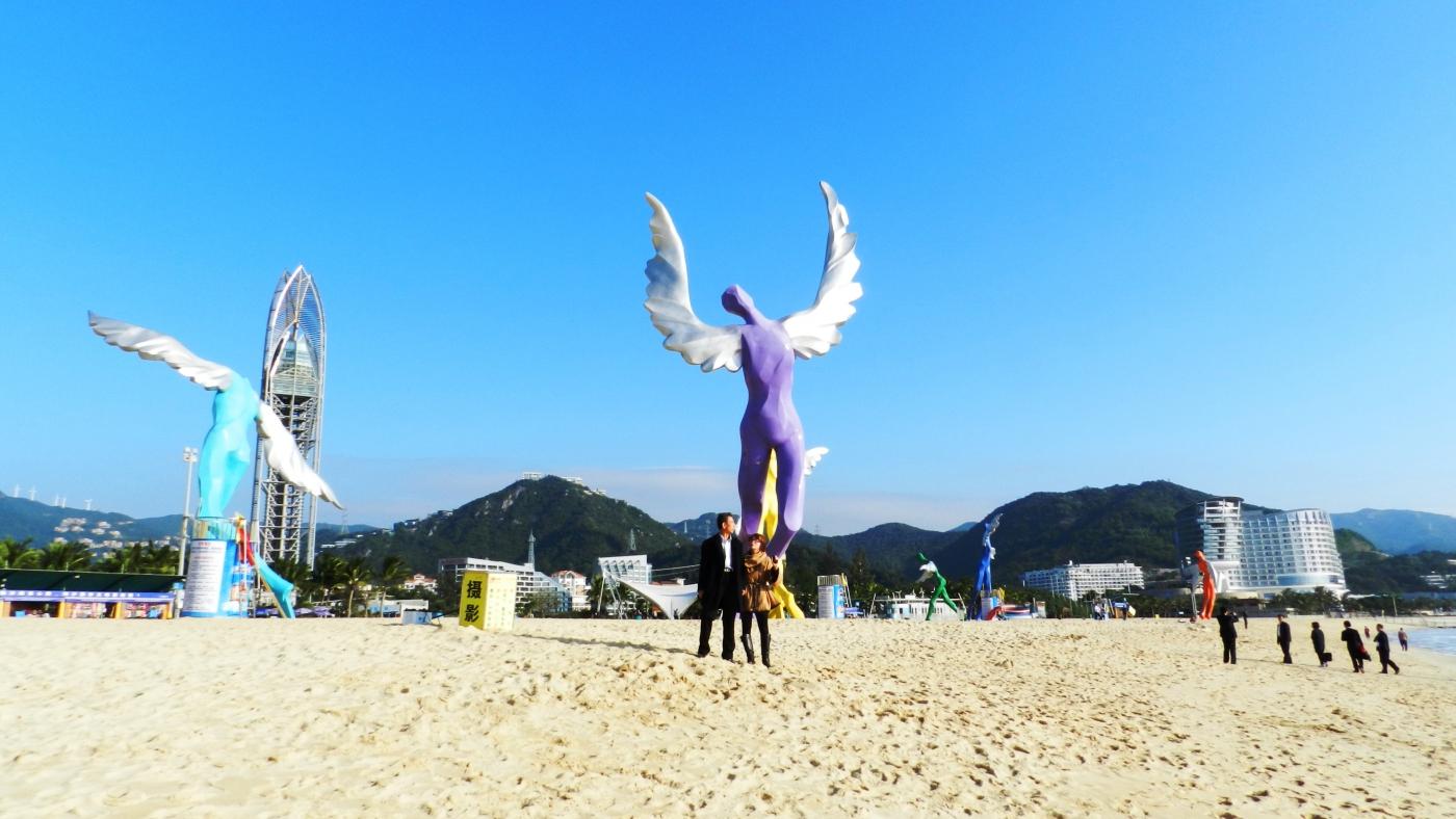 [汉良子]深圳大梅沙海滨公园看