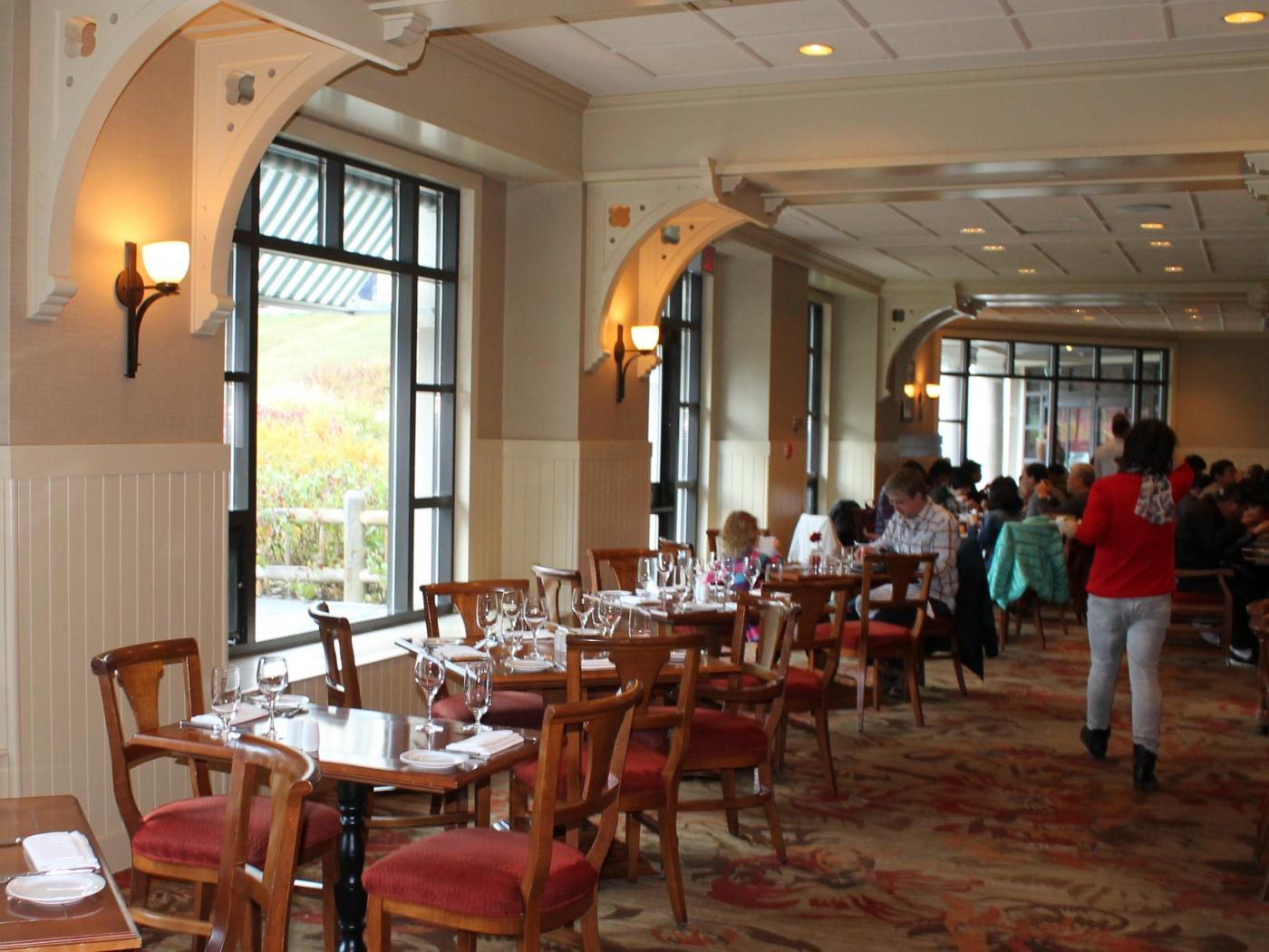 欧式城堡餐厅图片