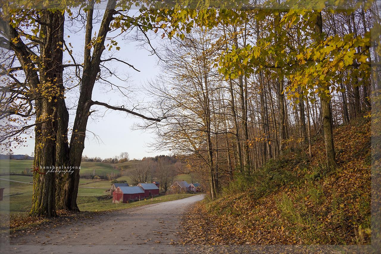秋末北上游------访佛蒙特名镇Woodstock_图1-7