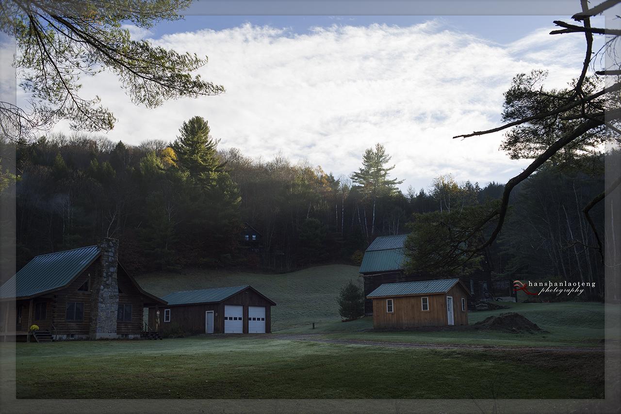 秋末北上游------访佛蒙特名镇Woodstock_图1-12