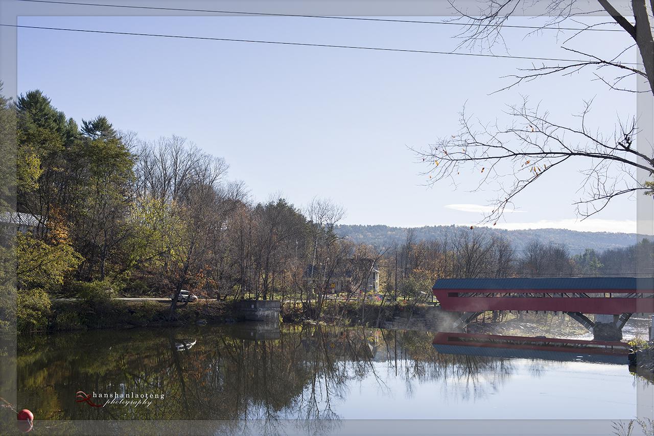 秋末北上游------访佛蒙特名镇Woodstock_图1-17