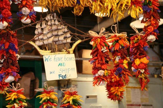 深秋时节的西雅图派克市场(图