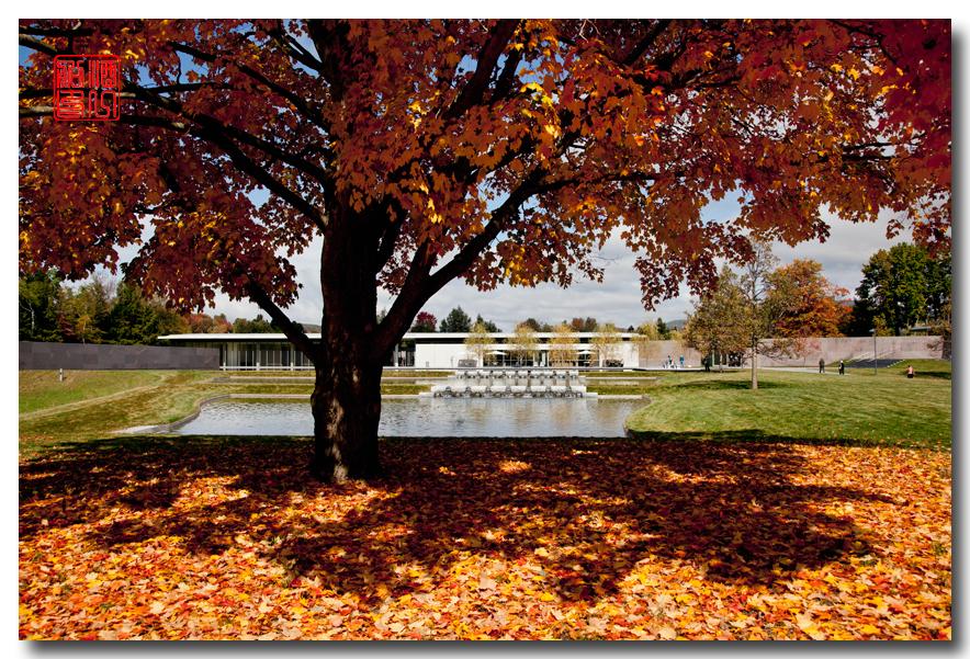 《酒一船摄影》:克拉克艺术学院 - 新英格兰赏秋行之一_图1-5