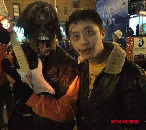 华人在纽约怎么装神弄鬼过万圣节_图1-19