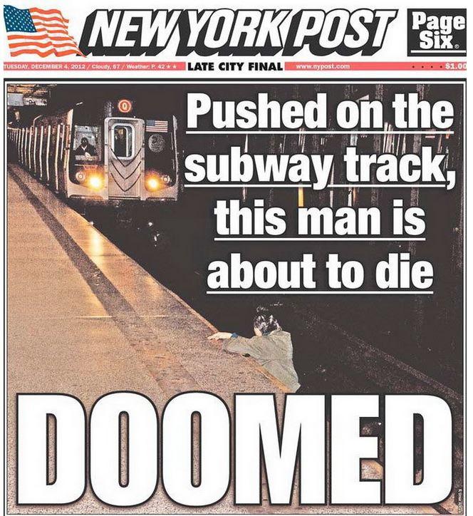 纽约华裔老人被推下地铁:如果受害人是非裔会怎样?_图1-2