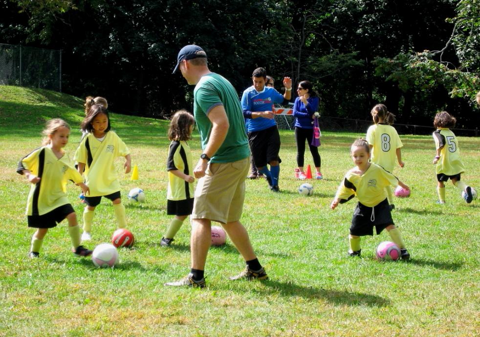 小足球(美国叫soccer)队活动纪实_图1-1