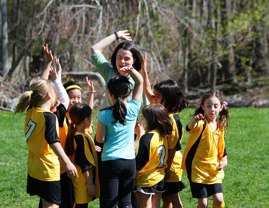 小足球(美国叫soccer)队活动纪实_图1-4