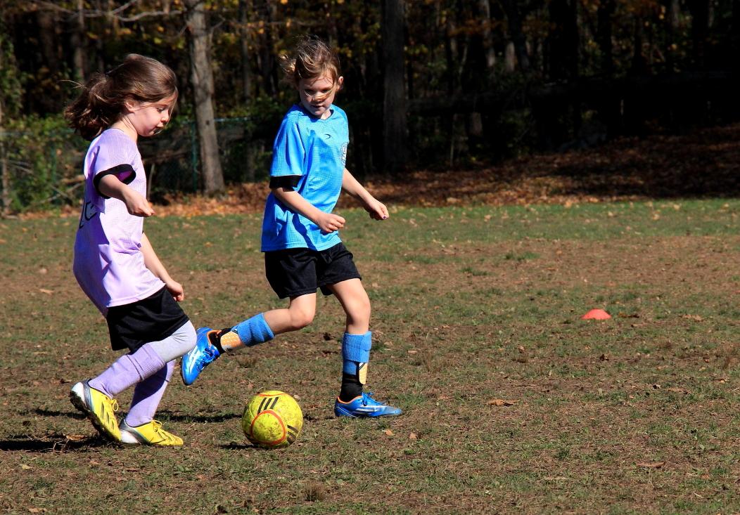 小足球(美国叫soccer)队活动纪实_图1-6