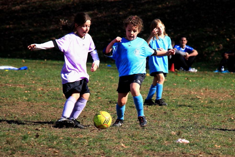 小足球(美国叫soccer)队活动纪实_图1-7