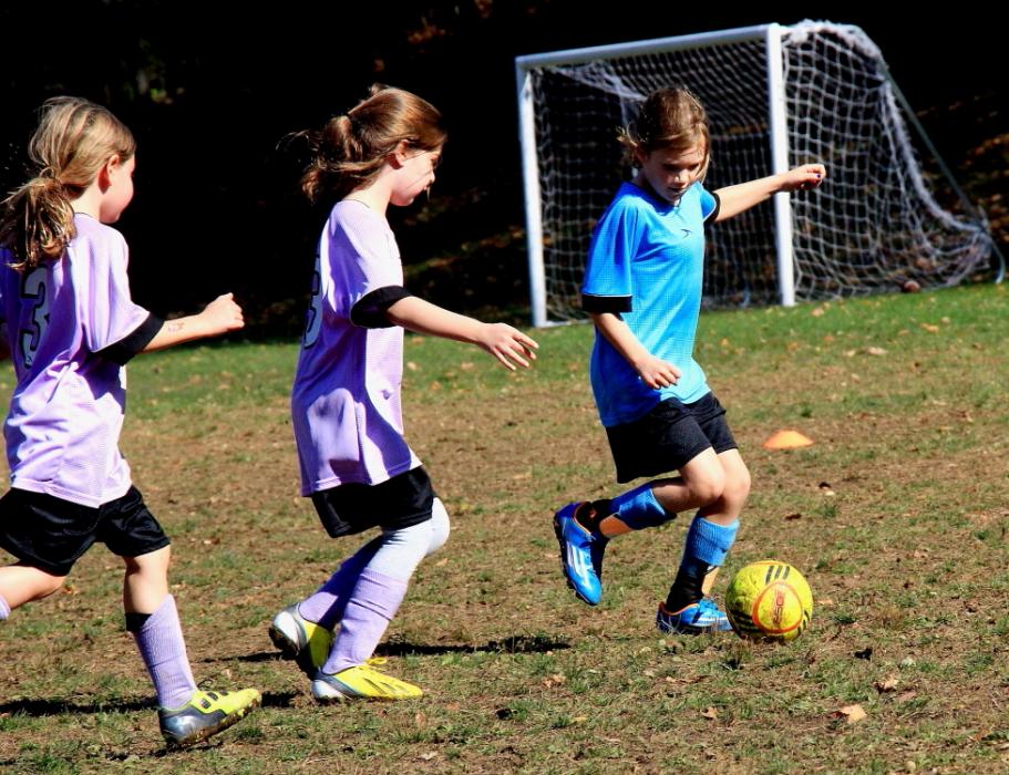 小足球(美国叫soccer)队活动纪实_图1-8