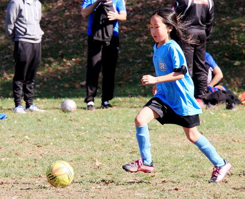 小足球(美国叫soccer)队活动纪实_图1-9
