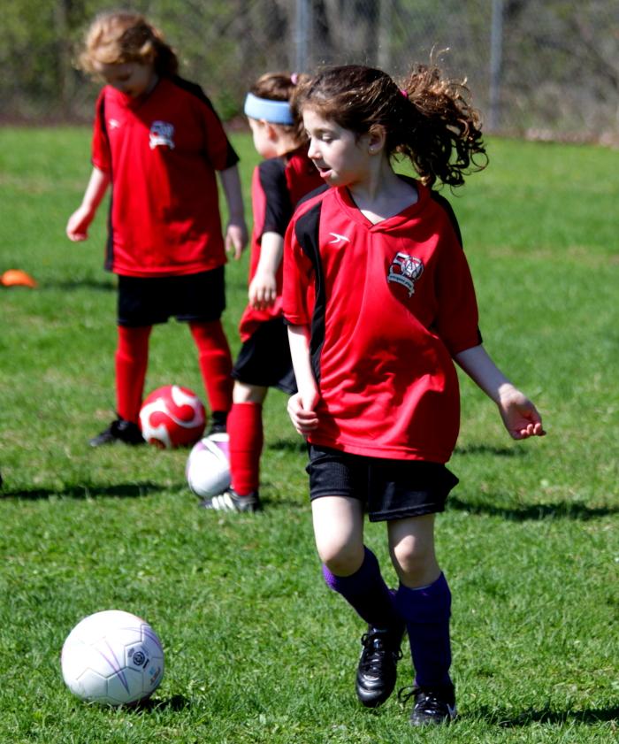 小足球(美国叫soccer)队活动纪实_图1-10