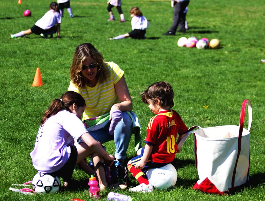 小足球(美国叫soccer)队活动纪实_图1-12