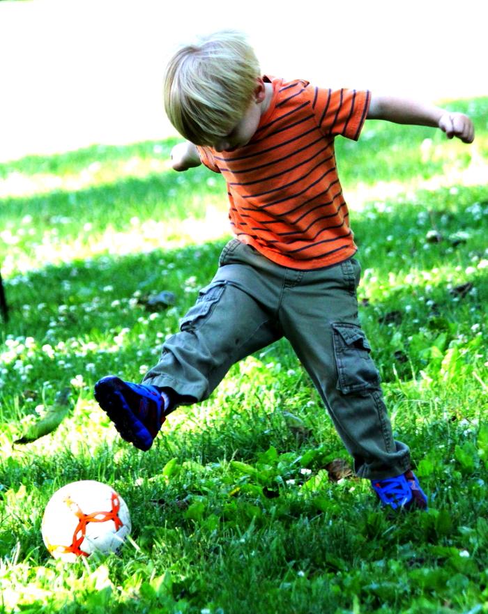 小足球(美国叫soccer)队活动纪实_图1-18