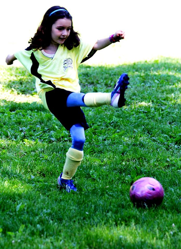 小足球(美国叫soccer)队活动纪实_图1-3