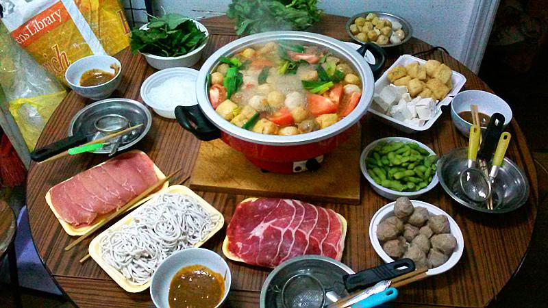 分享--吃火锅过火鸡节