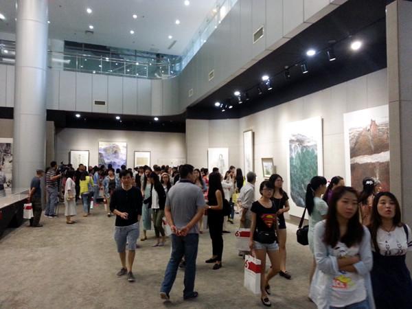 张广才教授参加庆祝祖国成立65周年江苏省美术作品展_图1-3