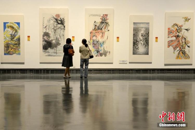 """张广才教授参加""""2014全国中国画名家(苏州)邀请展""""_图1-3"""
