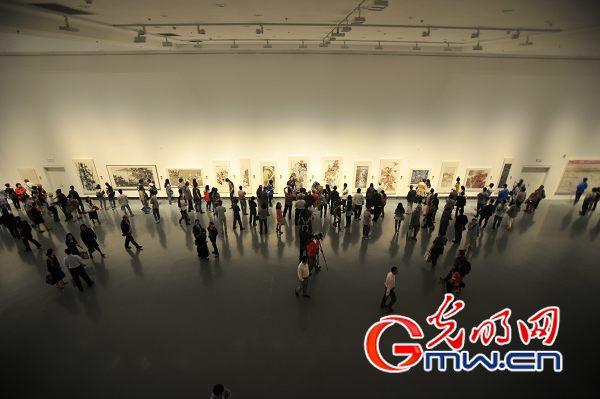 """张广才教授参加""""2014全国中国画名家(苏州)邀请展""""_图1-4"""