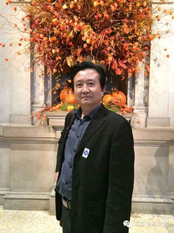 张广才教授参加江苏中国画学会创研基地美国纽约揭牌仪式暨画展 ... ... ... ..._图1-1