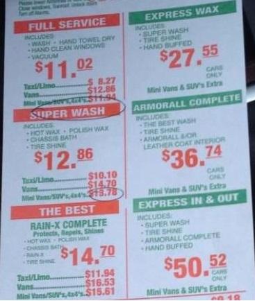 美国【大象\比基尼美女\机器】洗车的不同价格_图1-10
