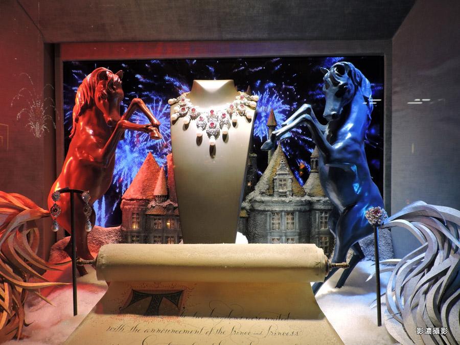 紐約2014聖誕櫥窗精典設計