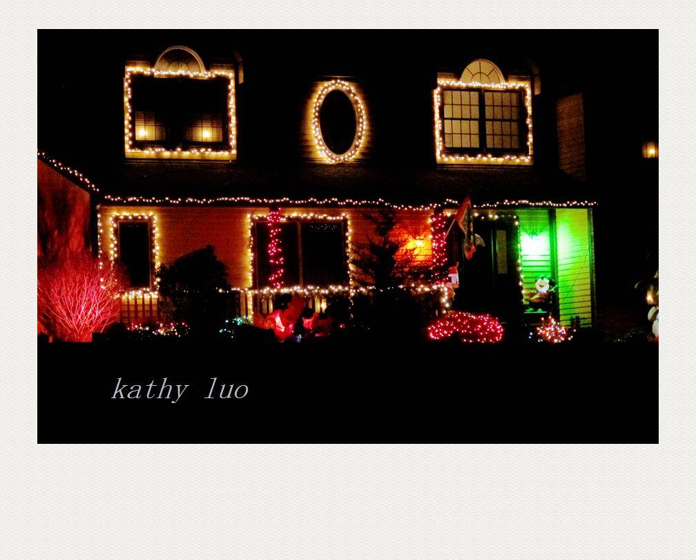 【小虫摄影】圣诞节的灯火--千灯万盏百姓家_图1-1