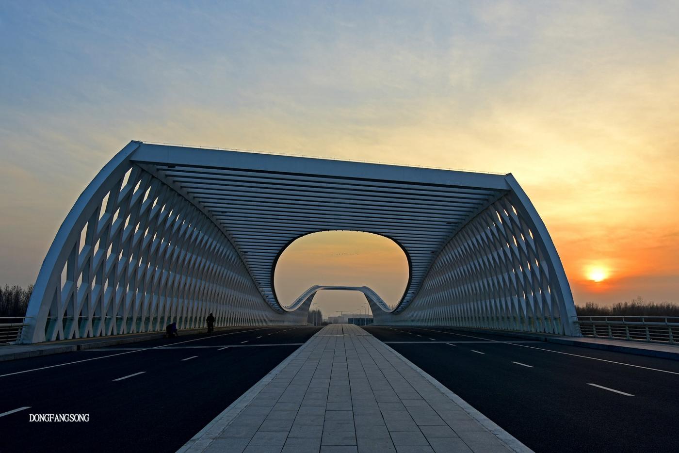 【東方頌0062】晚霞时分的桥_图1-9