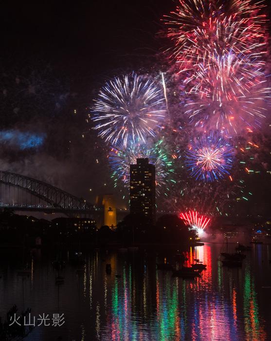 2015年悉尼新年焰火秀_图1-3