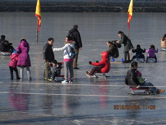 北海公园的冬天景色_图1-4