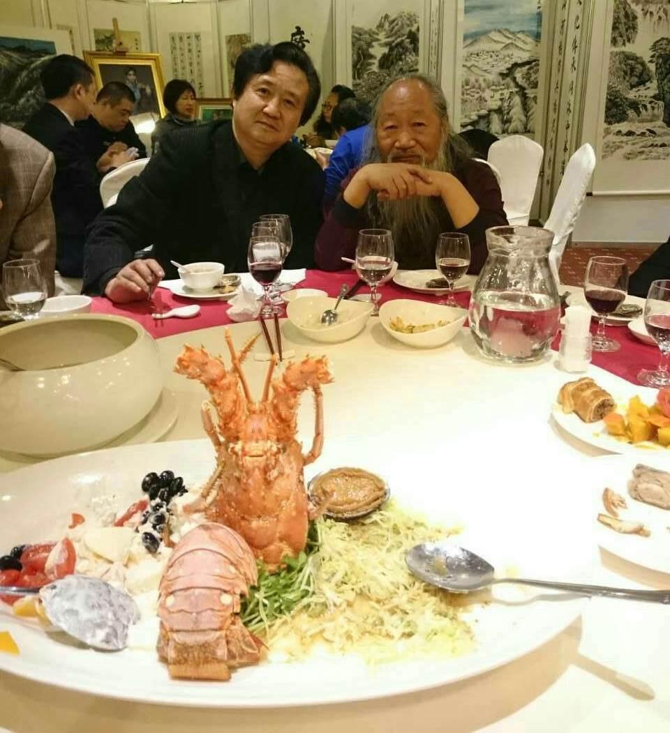张广才教授参加中外友协举办的首届海峡两岸名人书画展_图1-6