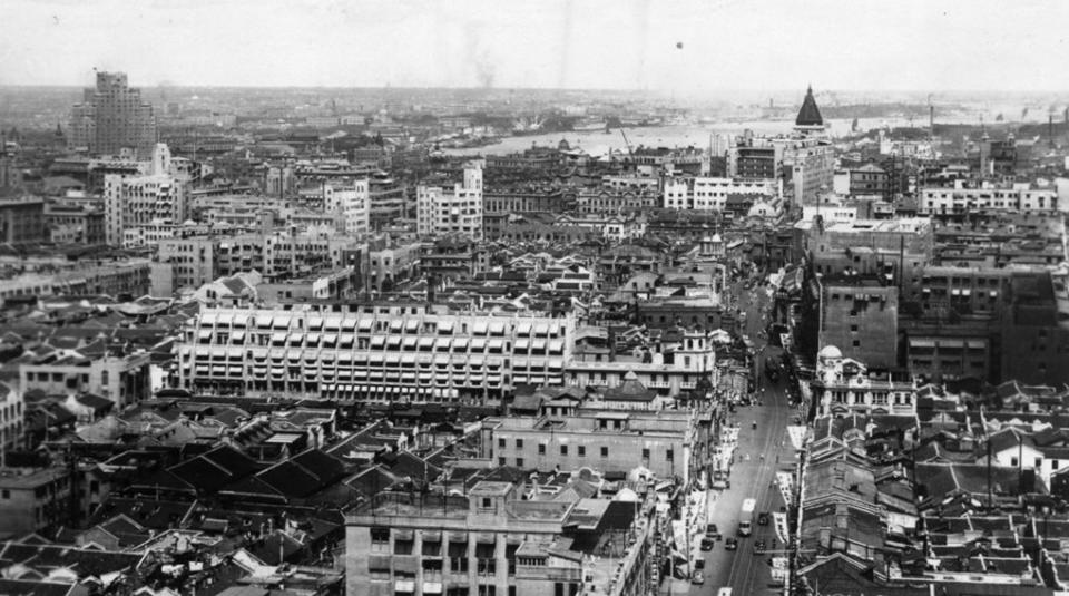 看看旧上海的图片再比较今日_图1-4
