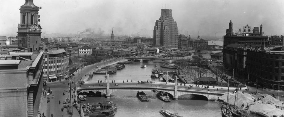看看旧上海的图片再比较今日_图1-3