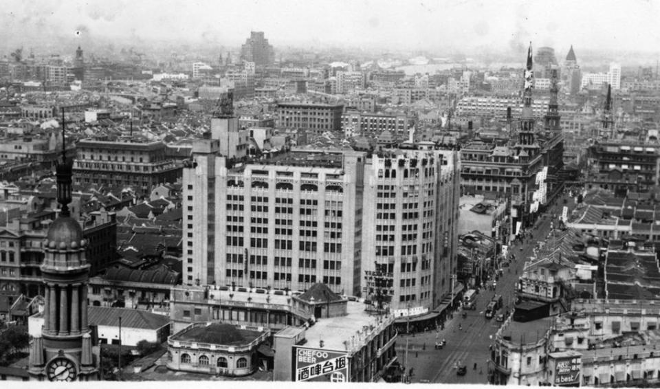 看看旧上海的图片再比较今日_图1-2