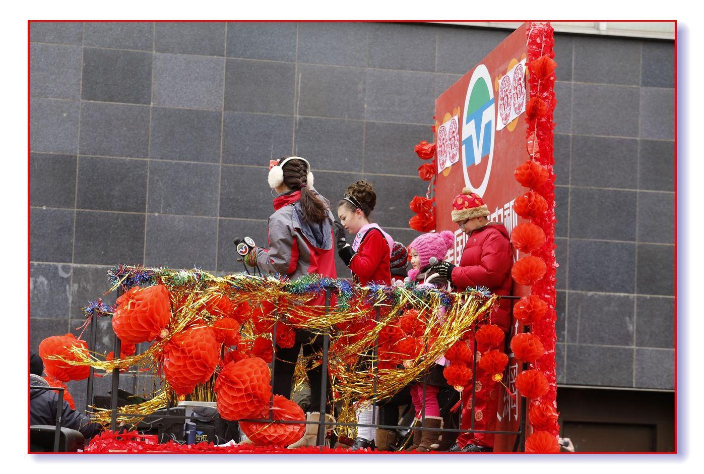 气势可佳的中文网法拉盛游行队伍_图1-5