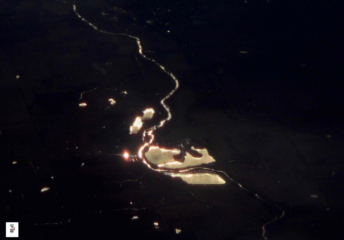 俯瞰美国河流水系照片 (中国四川 夏中华)_图1-11